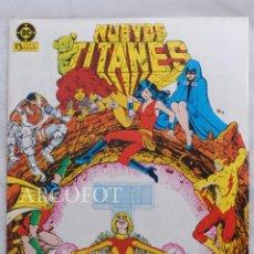 Cómics: NUEVOS TITANES - Nº28 - EDICIONES ZINCO. Lote 218001833