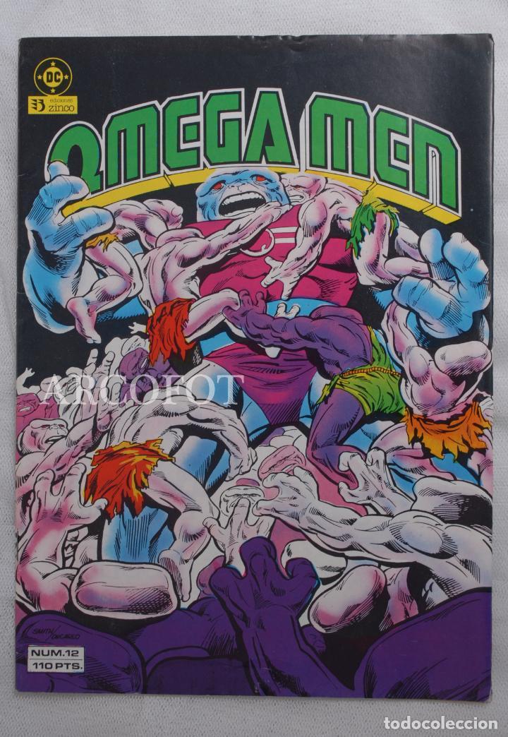 OMEGA MEN - Nº 12 - EDICIONES ZINCO - 1984 (Tebeos y Comics - Zinco - Nuevos Titanes)