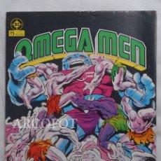Cómics: OMEGA MEN - Nº 12 - EDICIONES ZINCO - 1984. Lote 218002068