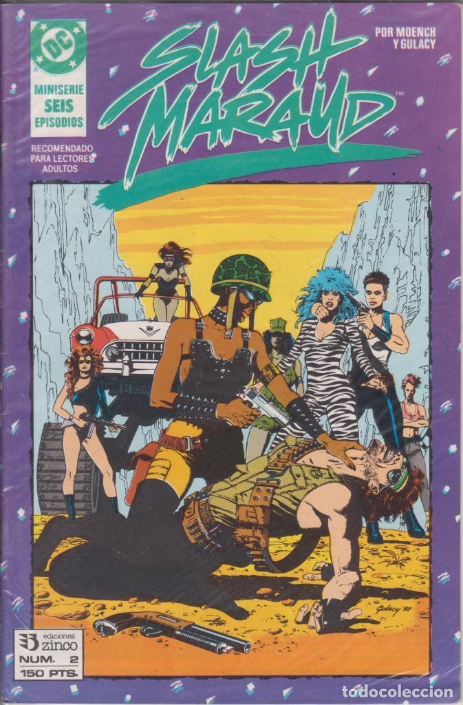 CÓMIC DC SLASH MARAUD Nº 2 ( DE 6 ) POR MOENCH Y GULACY - ED. ZINCO. (Tebeos y Comics - Zinco - Otros)