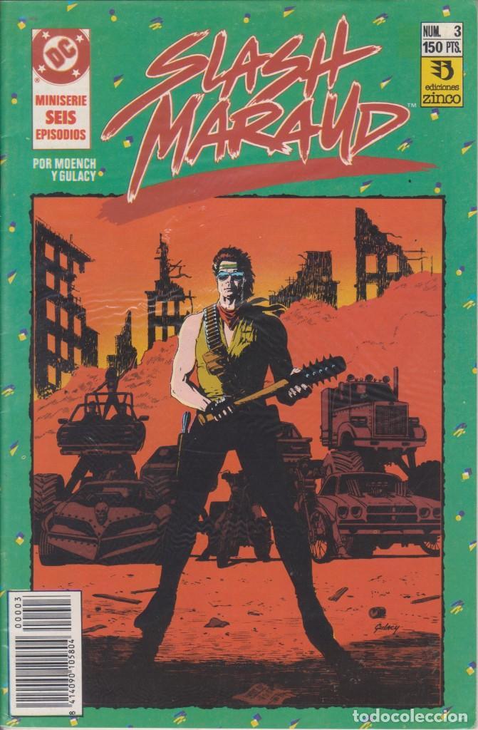 CÓMIC DC SLASH MARAUD Nº 3 ( DE 6 ) POR MOENCH Y GULACY - ED. ZINCO. (Tebeos y Comics - Zinco - Otros)