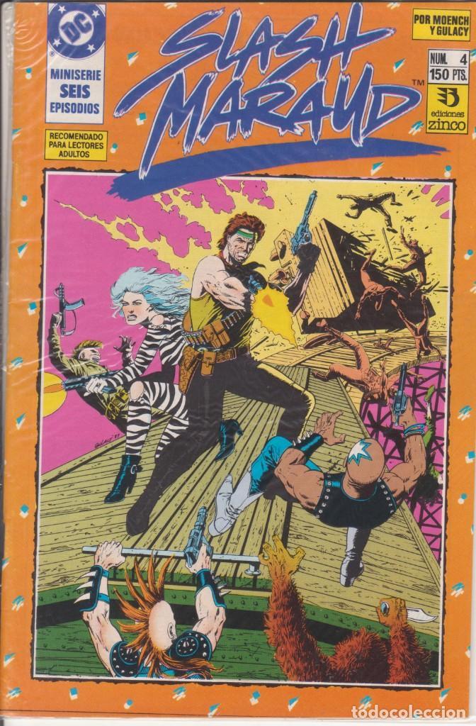 CÓMIC DC SLASH MARAUD Nº 4 ( DE 6 ) POR MOENCH Y GULACY - ED. ZINCO. (Tebeos y Comics - Zinco - Otros)