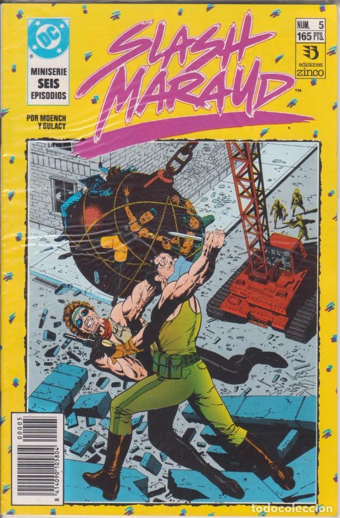 CÓMIC DC SLASH MARAUD Nº 5 ( DE 6 ) POR MOENCH Y GULACY - ED. ZINCO. (Tebeos y Comics - Zinco - Otros)