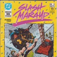 Cómics: CÓMIC DC SLASH MARAUD Nº 5 ( DE 6 ) POR MOENCH Y GULACY - ED. ZINCO.. Lote 218020508
