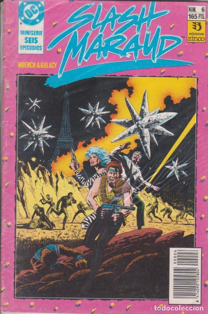 CÓMIC DC SLASH MARAUD Nº 6 ( DE 6 ) POR MOENCH Y GULACY - ED. ZINCO. (Tebeos y Comics - Zinco - Otros)