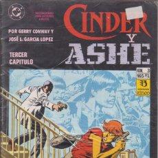 Cómics: CÓMIC DC CINDER Y ASHE Nº 3 ( DE 4 ) POR G.CONWAY Y J.L.GARCIA LOPEZ - ED. ZINCO.. Lote 218022810