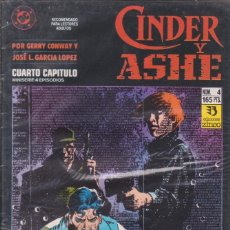 Cómics: CÓMIC DC CINDER Y ASHE Nº 4 ( DE 4 ) POR G.CONWAY Y J.L.GARCIA LOPEZ - ED. ZINCO.. Lote 218022930