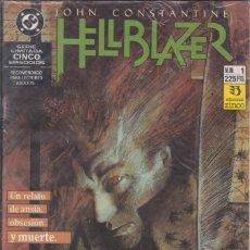 Cómics: CÓMIC DC HELLBLAZER Nº 1 ( DE 5 ) POR J.DELANO Y J.RIDGWAY - ED. ZINCO. 52 PGS.. Lote 218027293