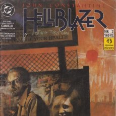 Cómics: CÓMIC DC HELLBLAZER Nº 3 ( DE 5 ) POR J.DELANO Y J.RIDGWAY - ED. ZINCO.. Lote 218027748