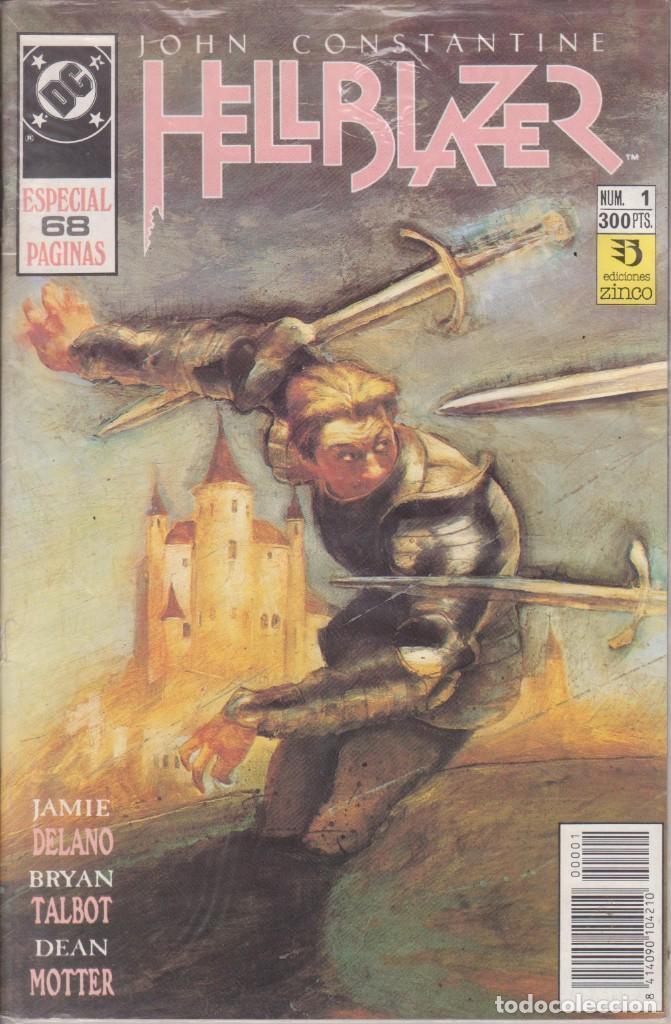 CÓMIC DC HELLBLAZER ESPECIAL Nº 1 POR J.DELANO , B.TALBOT Y D.MOTTER- ED. ZINCO. 68 PGS. (Tebeos y Comics - Zinco - Otros)