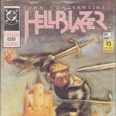 Cómics: CÓMIC DC HELLBLAZER ESPECIAL Nº 1 POR J.DELANO , B.TALBOT Y D.MOTTER- ED. ZINCO. 68 PGS.. Lote 218028316