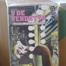 Cómics: V DE VENDETTA / COLECCION COMPLETA / 10 NUMEROS / 1º EDICION / DC ZINCO /. Lote 218086961