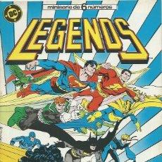 Cómics: LEGENDS Nº 6 ZINCO. Lote 218252656
