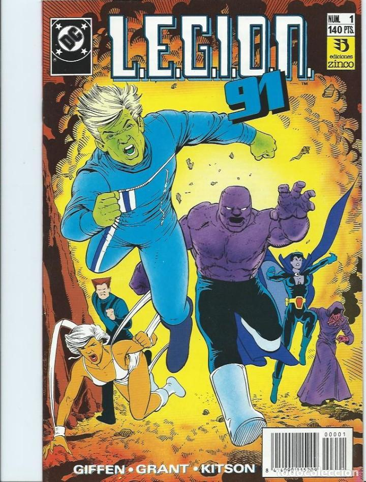 LEGION 91 Nº 1 ZINCO (Tebeos y Comics - Zinco - Legión 91)