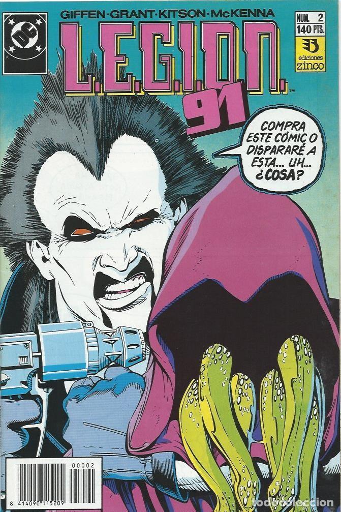LEGION 91 Nº 2 ZINCO (Tebeos y Comics - Zinco - Legión 91)