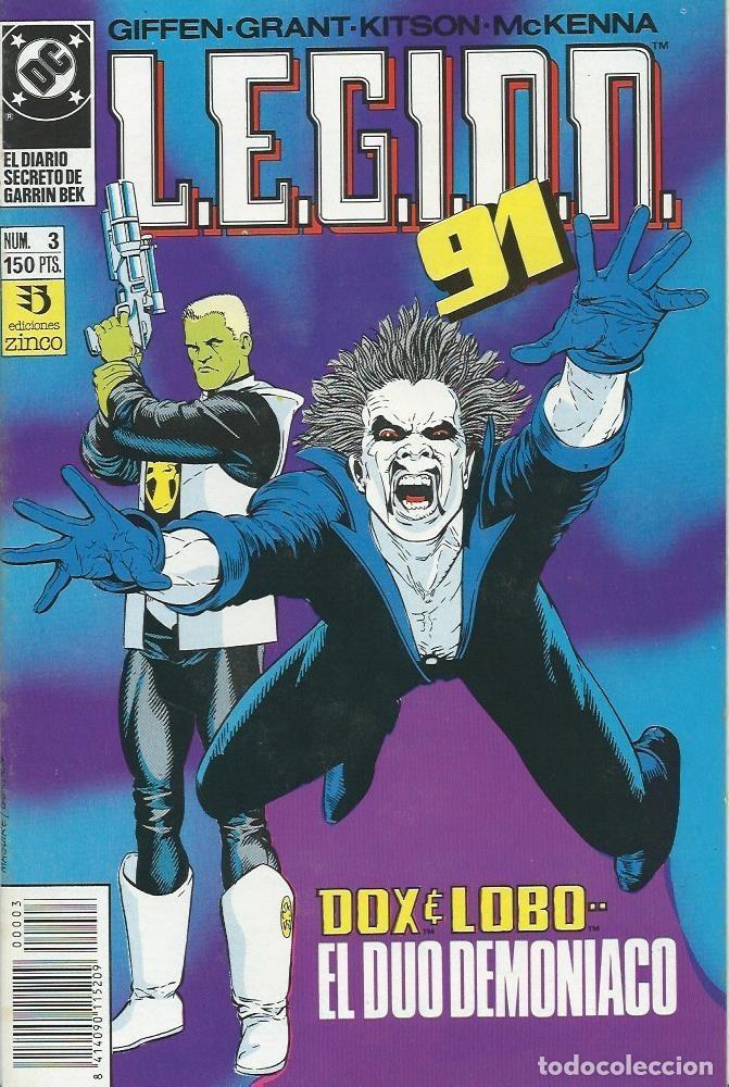 LEGION 91 Nº 3 ZINCO (Tebeos y Comics - Zinco - Legión 91)