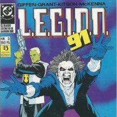 Cómics: LEGION 91 Nº 3 ZINCO. Lote 218252813