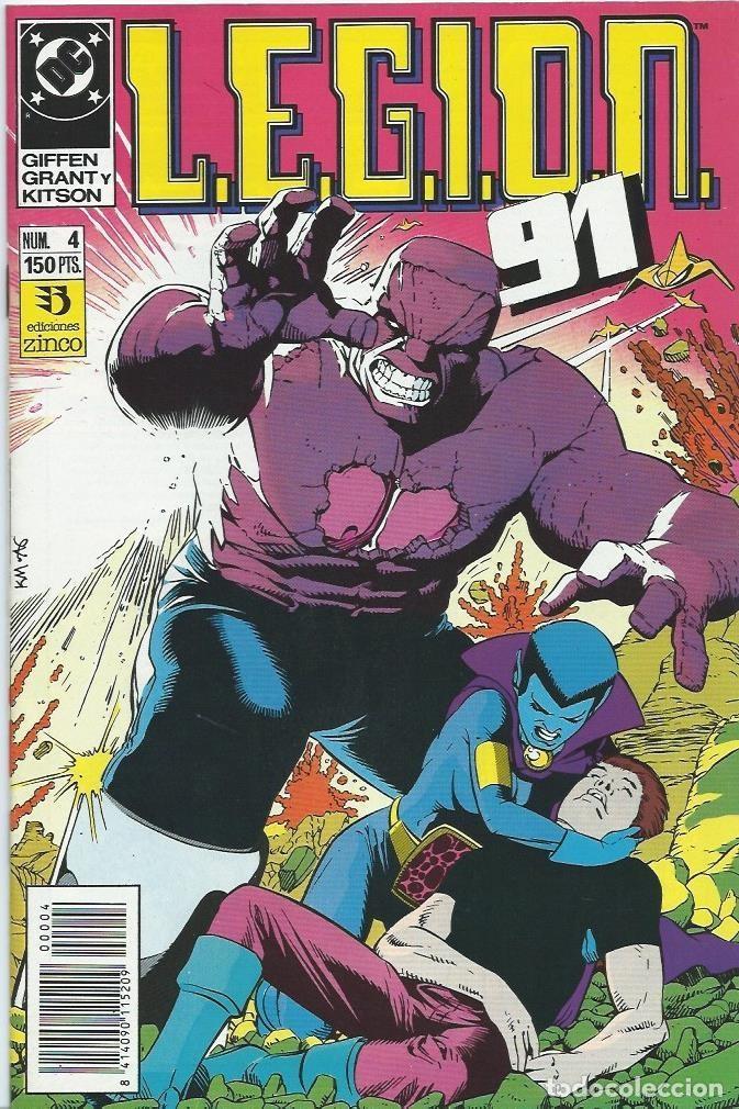 LEGION 91 Nº 4 ZINCO (Tebeos y Comics - Zinco - Legión 91)