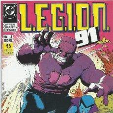 Cómics: LEGION 91 Nº 4 ZINCO. Lote 218252836