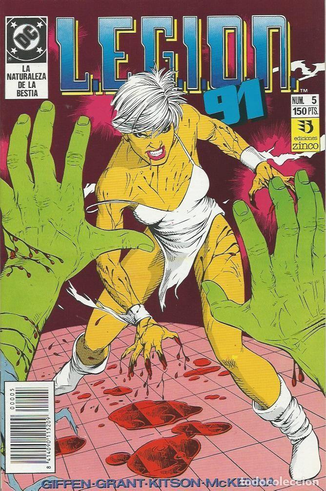 LEGION 91 Nº 5 ZINCO (Tebeos y Comics - Zinco - Legión 91)
