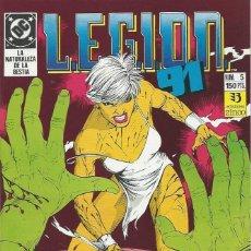 Cómics: LEGION 91 Nº 5 ZINCO. Lote 218252858