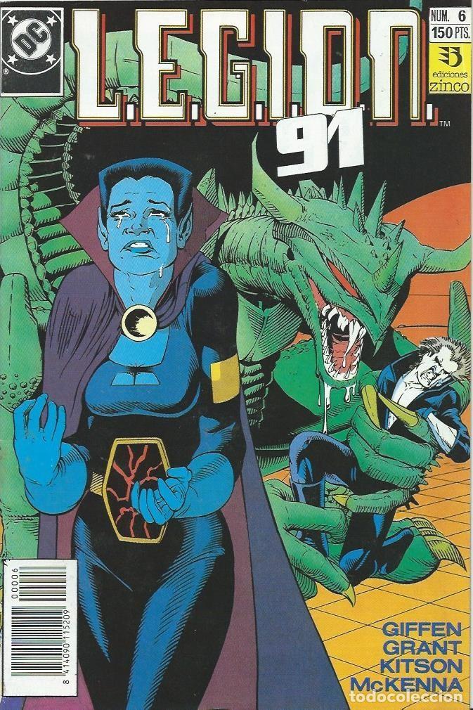 LEGION 91 Nº 6 ZINCO (Tebeos y Comics - Zinco - Legión 91)