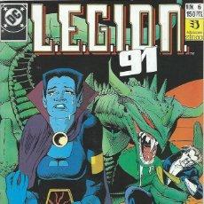 Cómics: LEGION 91 Nº 6 ZINCO. Lote 218252888