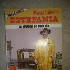 Cómics: COLECCION BRONCO OESTE 39. AL MARGEN DE TODA LEY. MARCIAL LAFUENTE ESTEFANIA. ZINCO. 1988. Lote 218284062