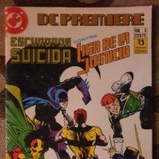 Cómics: DC PREMIERE 3 ESCUADRÓN SUICIDA CONTRA LA LIGA DE LA JUSTICIA ZINCO. Lote 218344838