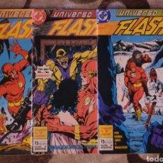 Cómics: UNIVERSO DC FLASH - ZINCO - COMPLETA. Lote 218345860