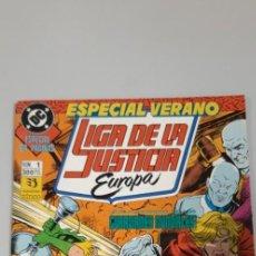Cómics: LIGA DE LA JUSTICIA EUROPA ESPECIAL VERANO ZINCO. Lote 218347230