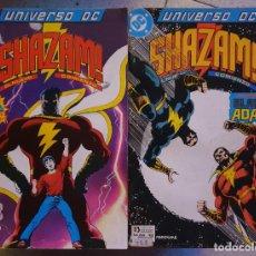 Cómics: UNIVERSO DC 12 Y 13 SHAZAM COMPLETA - ZINCO. Lote 218375180