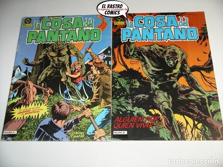 Cómics: La cosa del pantano, 1ª serie de 1984, coleccion completa 10 nº, ed. Zinco DC - Foto 2 - 218449231