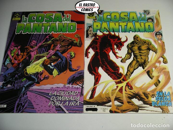 Cómics: La cosa del pantano, 1ª serie de 1984, coleccion completa 10 nº, ed. Zinco DC - Foto 4 - 218449231
