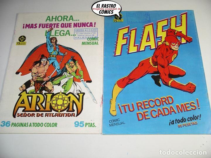 Cómics: La cosa del pantano, 1ª serie de 1984, coleccion completa 10 nº, ed. Zinco DC - Foto 5 - 218449231