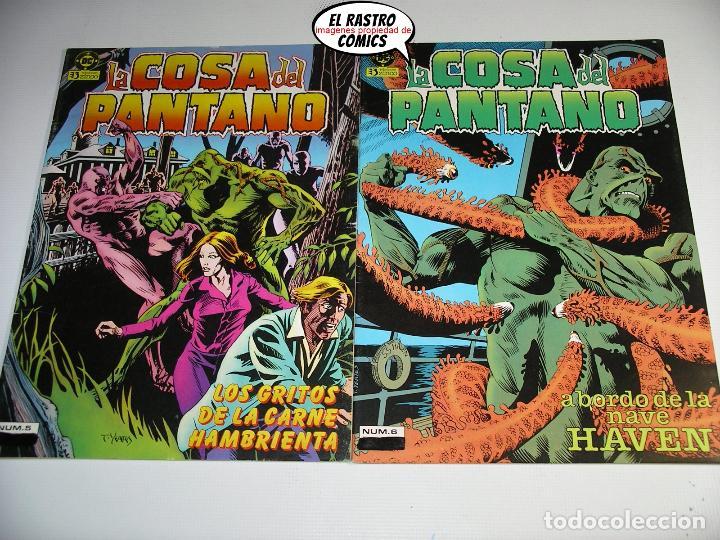 Cómics: La cosa del pantano, 1ª serie de 1984, coleccion completa 10 nº, ed. Zinco DC - Foto 6 - 218449231