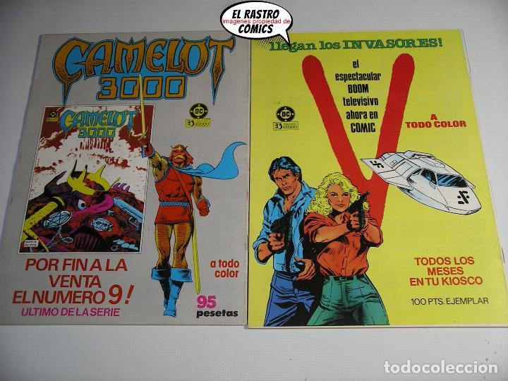 Cómics: La cosa del pantano, 1ª serie de 1984, coleccion completa 10 nº, ed. Zinco DC - Foto 7 - 218449231