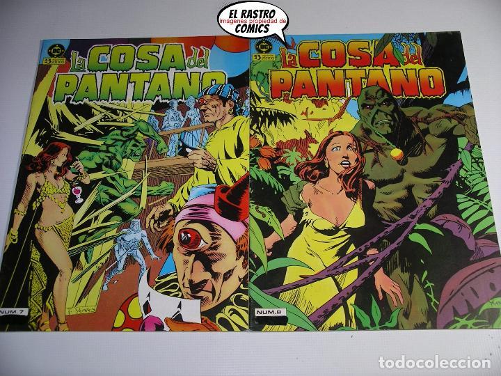 Cómics: La cosa del pantano, 1ª serie de 1984, coleccion completa 10 nº, ed. Zinco DC - Foto 8 - 218449231