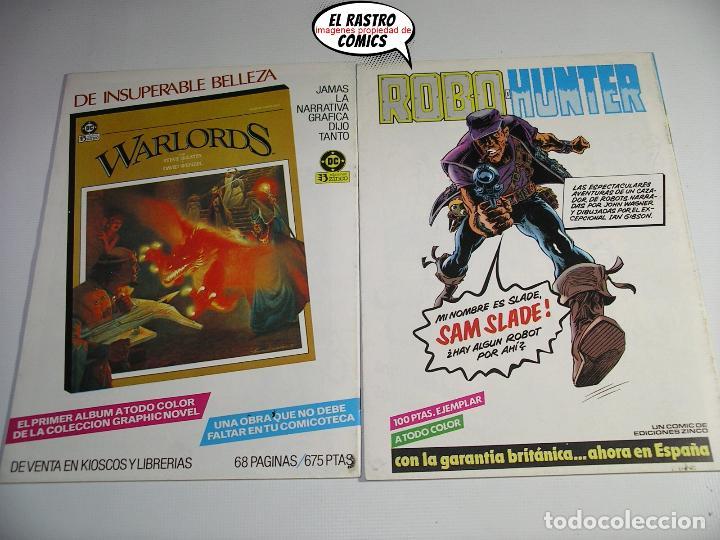 Cómics: La cosa del pantano, 1ª serie de 1984, coleccion completa 10 nº, ed. Zinco DC - Foto 9 - 218449231
