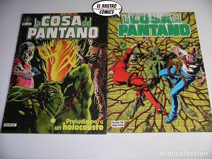 Cómics: La cosa del pantano, 1ª serie de 1984, coleccion completa 10 nº, ed. Zinco DC - Foto 10 - 218449231
