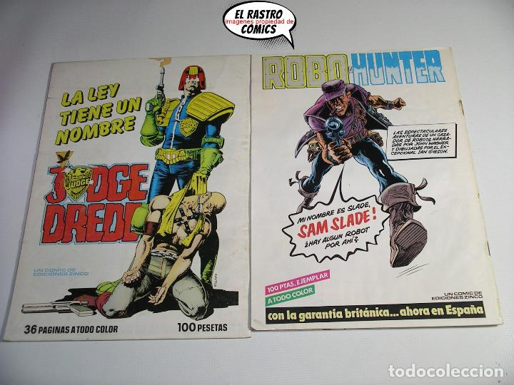 Cómics: La cosa del pantano, 1ª serie de 1984, coleccion completa 10 nº, ed. Zinco DC - Foto 11 - 218449231