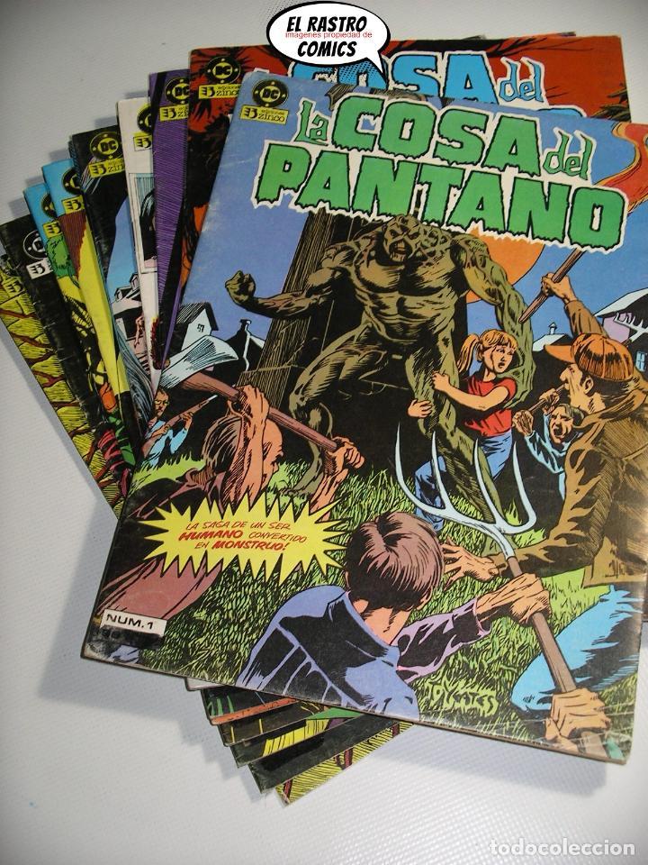LA COSA DEL PANTANO, 1ª SERIE DE 1984, COLECCION COMPLETA 10 Nº, ED. ZINCO DC (Tebeos y Comics - Zinco - Cosa del Pantano)