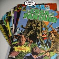 Cómics: LA COSA DEL PANTANO, 1ª SERIE DE 1984, COLECCION COMPLETA 10 Nº, ED. ZINCO DC. Lote 218449231