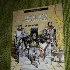 Cómics: LOS HEROES CABALLEROS - LA OSA MAYOR - COTHIAS - ROUGE. Lote 218497075