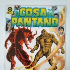 Cómics: LA COSA DEL PANTANO N°. 4. Lote 218536118