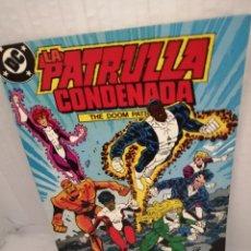 Cómics: DC / ZINCO. LA PATRULLA CONDENADA, NUM. 8 (PRIMERA EDICIÓN). Lote 218596631