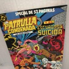 Cómics: DC / ZINCO. LA PATRULLA CONDENADA Y EL ESCUADRÓN SUICIDA, NUM. 7 (PRIMERA EDICIÓN). Lote 218596783
