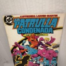 Cómics: DC / ZINCO. LA PATRULLA CONDENADA, NUM. 9 (PRIMERA EDICIÓN). Lote 218596896