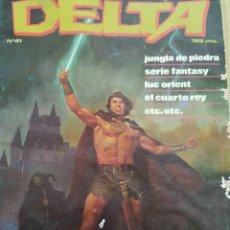Cómics: DELTA, N-41, COMIC PARA ADULTOS, ZINCO. Lote 218709920