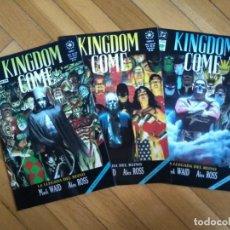 Cómics: KINGDOM COME TOMO I II Y III - FALTA EL IV PARA ESTAR COMPLETA. Lote 218961660
